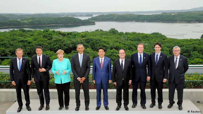 Japan: G7-Gipfel in Ise-Shima (2016) (Reuters)