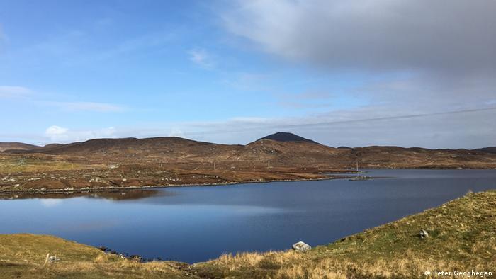 Scottish island with loch   copyright: Peter Geoghegan