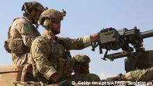 In Syrien sind auch US-amerikanische Spezialkräfte im Einsatz (Archivbild)