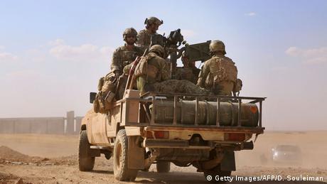 Syrien Provinz Rakka US-Soldaten Spezialkräfte