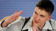 Ukraine Kiew Pressekonferenz Nadija Sawtschenko