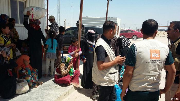 Fallujah residents flee