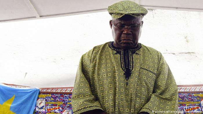 Demokratische Republik Kongo Kinshasa Oppositionsführer Etienne Tshisekedi