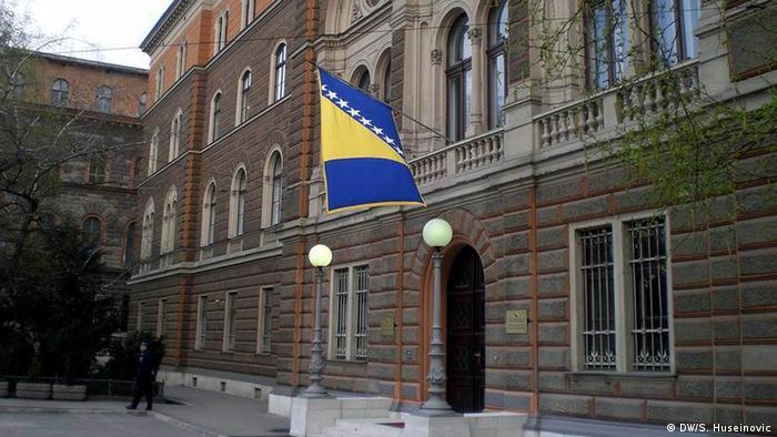 Bosnien und Herzegowina Präsidentensitz von BiH (DW/S. Huseinovic)