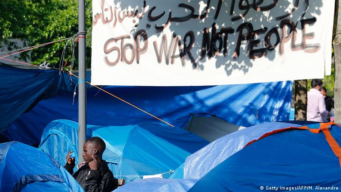 Frankreich Europa Migranten