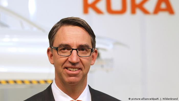 Till Reuter, CEO of Kuka