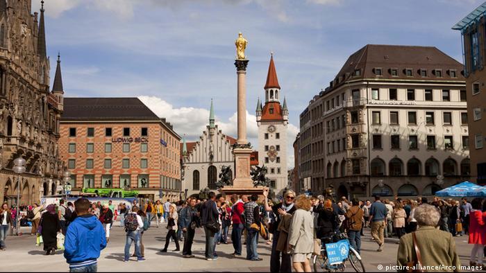 Deutschland München Stadtbild