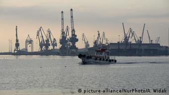 Thessaloniki Port in Greece