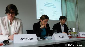 На презентации исследования в Берлине