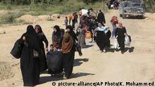 Flucht im Irak (Archivbild)