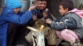 Straßenkinder in Kabul