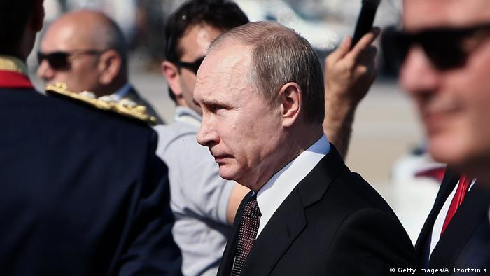 Владимир Путин в Афинах