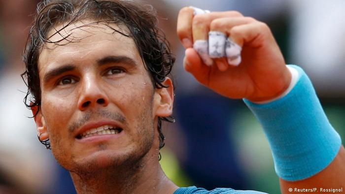 Frankreich Paris Rafael Nadal gegen Facundo Bagnis