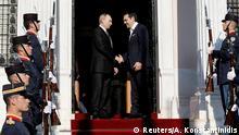 Heikle Zweisamkeit: Putin (links) mit Alexis Tsipras