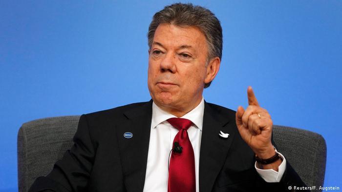 Juan Manuel Santos en imagen de archivo