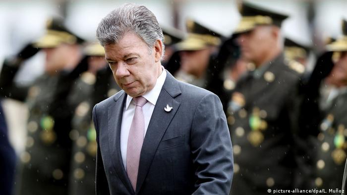 Kulumbien Bogota Juan Manuel Santos