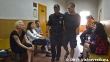Russland Gerichtsprozess Pyotr Pavlenskiy