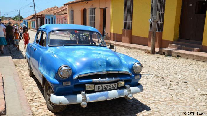 Kuba Oldtimer in Trinidad