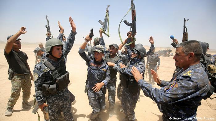 Irak Falludscha Kämpfe IS (Getty Images/AFP/A. Rubaye)
