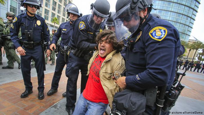 USA Proteste gegen Donald Trump San Diego