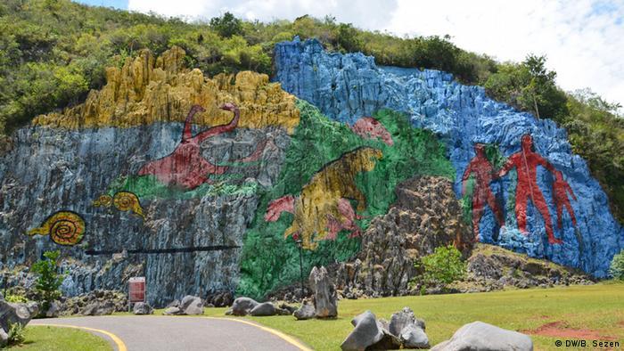 Kuba Viñales Mural de la Prehistoria