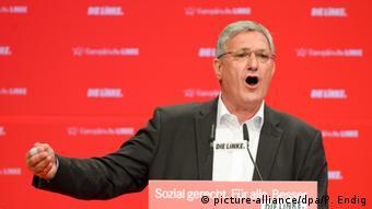 Magdeburg Bundesparteitag Die Linke Bernd Riexinger