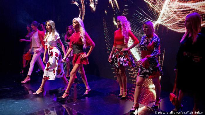 Israel Tel Aviv Miss Trans Bühne