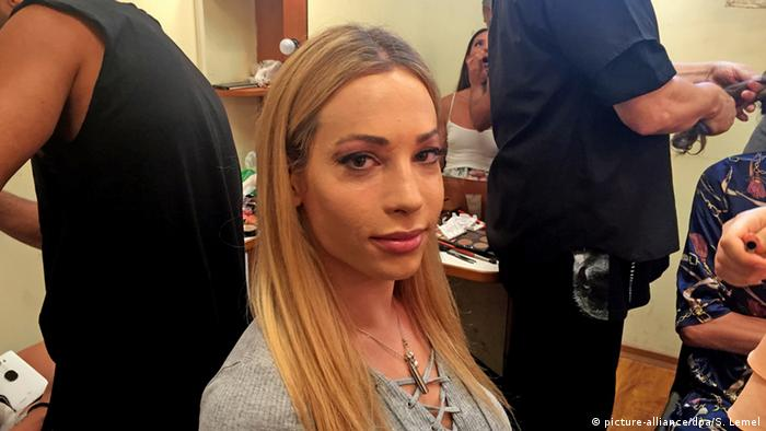 Israel Tel Aviv Miss Trans Eileen Ben-Zaken (Foto: picture-alliance/dpa/S. Lemel)
