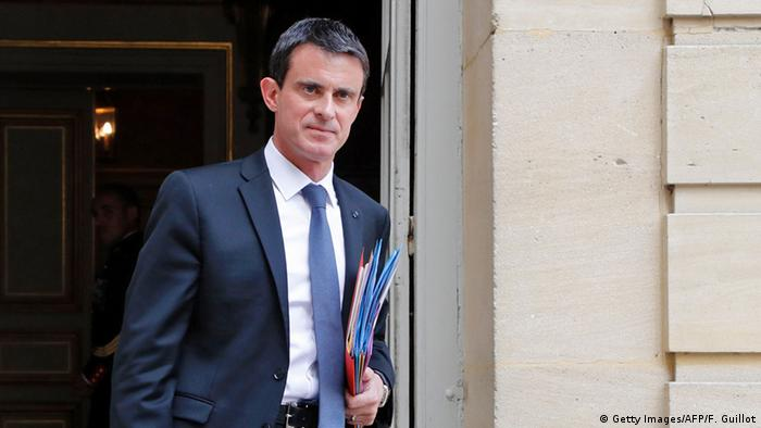 Frankreich Paris Manuel Valls (Getty Images/AFP/F. Guillot)