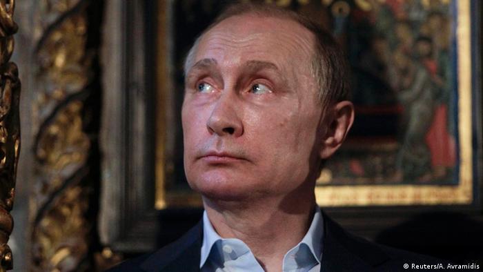 Griechenland Wladimir Putin Mönchrepublik Athos