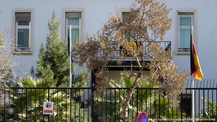 Iran Deutsche Botschaft in Teheran