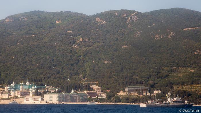 Griechenland Vladimir Putin besucht Athos (DW/D.Tosidis)