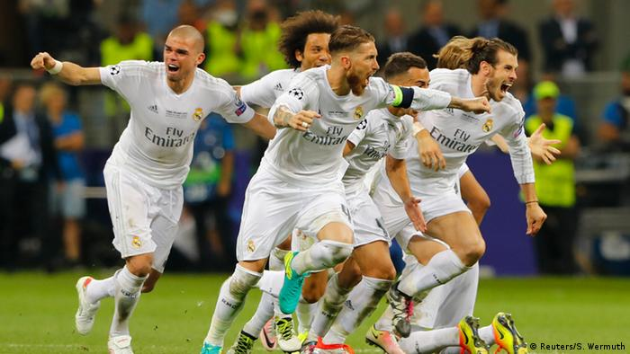 Champions League Real Madrid Beat Atletico Madrid On Penalties To