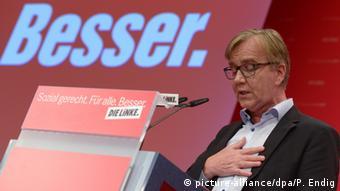 Left party leader Dietmar Bartsch