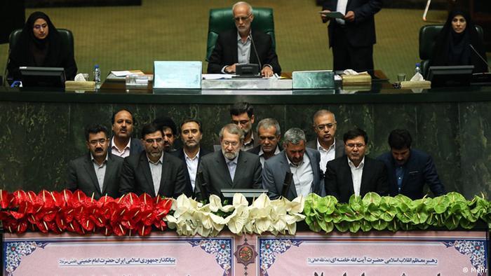 هیئت رئیسه موقت دهمین مجلس شورای اسلامی