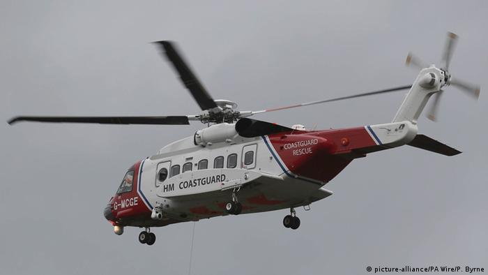 UK Coastguard Rescue Helicopter (picture-alliance/PA Wire/P. Byrne)