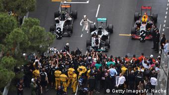 Monaco Formel 1 Motorsport Lewis Hamilton