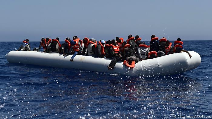 Symbolbild Flüchtlingsboot