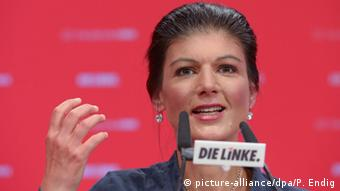 Magdeburg Parteitag Die Linke Sahra Wagenknecht Rede