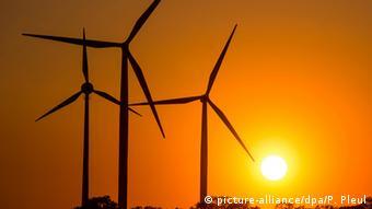 Deutschland Jacobsdorf Windpark
