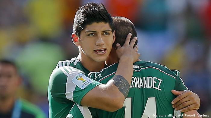 Mexican soccer player Alan Pulido