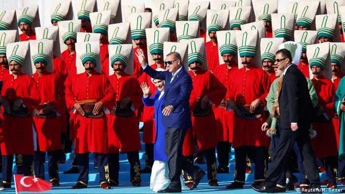 Türkei Istanbul Jahrestag Eroberung Konstantinopel Erdogan