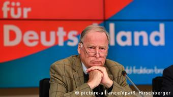 Заступник голови АдН Александер Ґауланд очолює список партії на виборах до Бундестагу