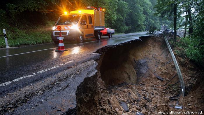 Наводнение в Браунсбахе
