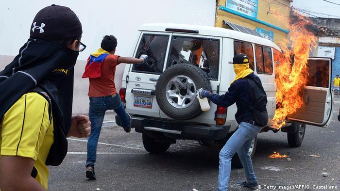 Venezuela Gewalt