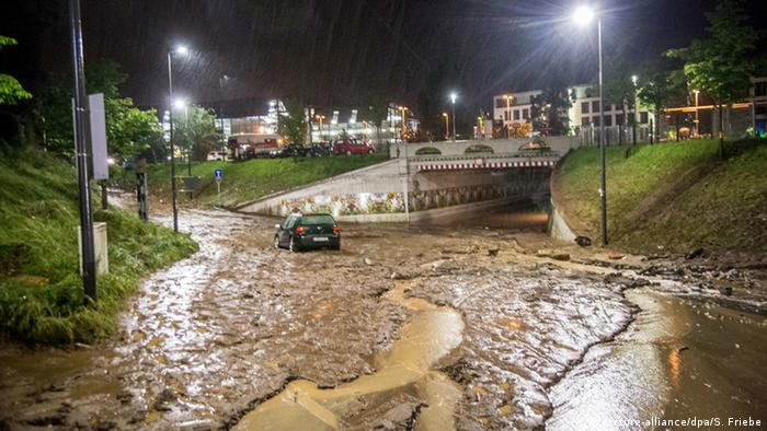 Heavy rains cause deadly flooding in southern Germany