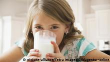 Am bekanntesten ist Milch als Kalzium-Lieferant
