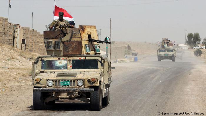 Irak Militäroperation gegen IS Falludscha