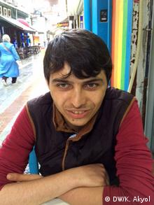 Türkei Gezi Proteste Verwundeter Okan Göçer