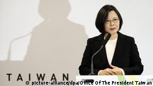 Tsai Ing-wen, presidenta de Taiwán.